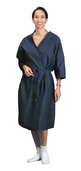 Navy Robe Gown