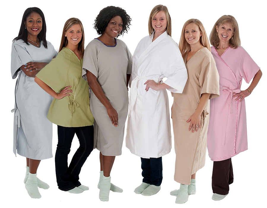 Comfort Care Line of Patient Gowns
